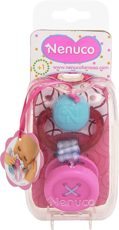 Amazon.es: Nenuco - Chupete con botón, Color Rosa (Famosa ...