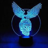 lampe tête de mort led 3