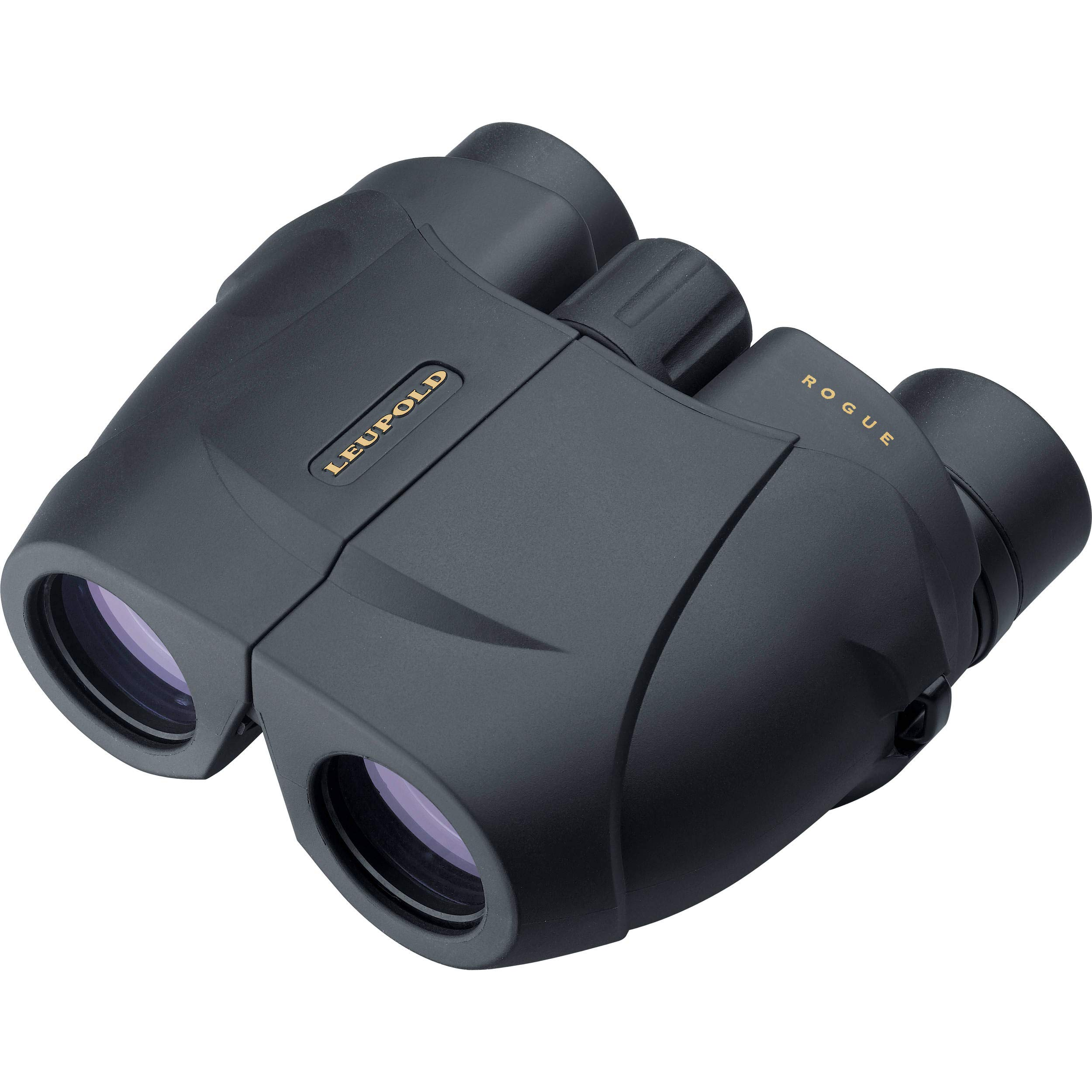 Leupold BX-1 Rogue 8x25mm Compact Binoculars, Porro Prism, Black by Leupold