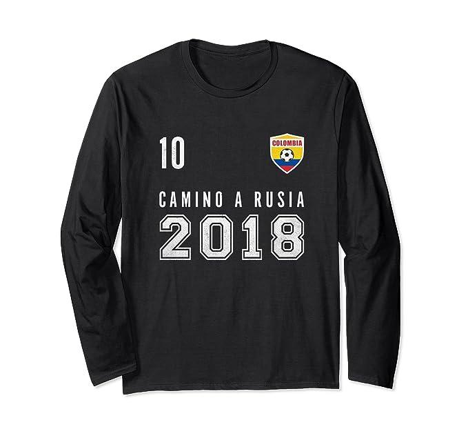 Unisex Colombia, Soccer, Rusia 2018 shirt - Camiseta Futbol tee Small Black