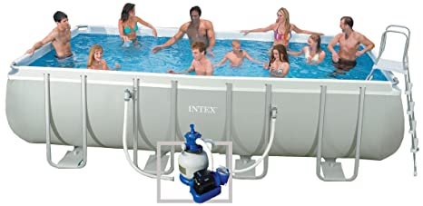 Intex – 54437 FR – Piscina – Kit Piscina Ultra Silver: 5,49 x