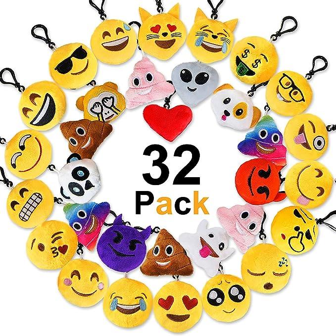 27 opinioni per Jansroad 32 Pezzi Emoji Portachiavi Faccine Portachiavi Emoticon , Portachiavi