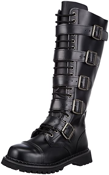 Amazon.com | Pleaser Men's Riot-20 Buckle Boot | Boots