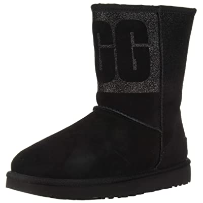 UGG Women's W Classic Short Sparkle Fashion Boot | Snow Boots