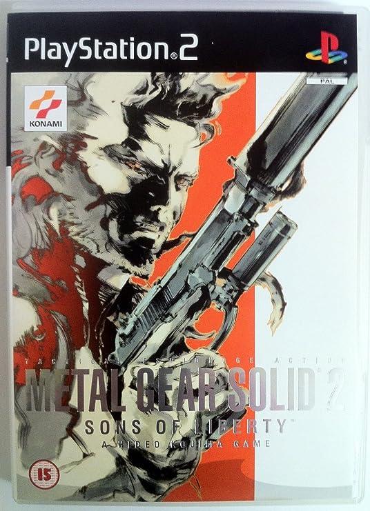 Metal Gear Solid 2: Sons Of Liberty Ps2 Uk: Amazon.es: Videojuegos