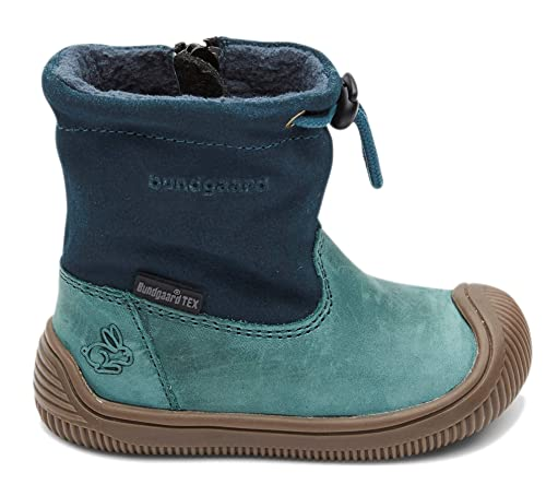 Bundgaard Baby Boy Winter Boots Walk Tex Pull on Petrol 21