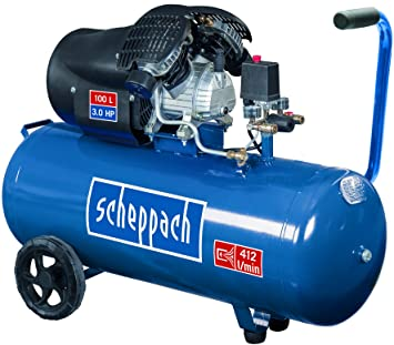 Scheppach 5906120901 Compresor de Aire de 2 Cilindros. 2200W ...