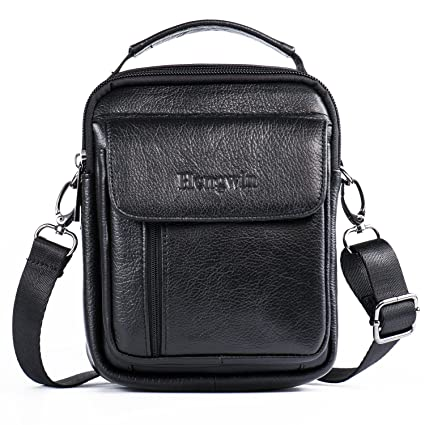 fc6b11522ef3 Leather Man Bag