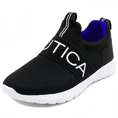 super cute 74fa3 6511e Nautica Kids Boys Slip On Sneaker Comfortable Running Shoes - Little  Kid/Big Kid