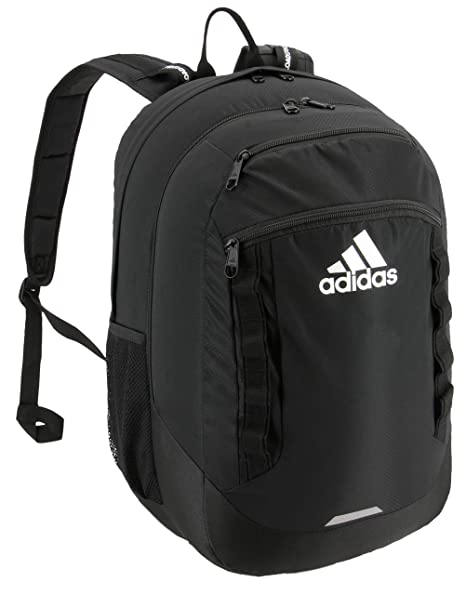 275c4b7a26 Amazon.com: adidas Excel Backpack, Black, One Size: Clothing
