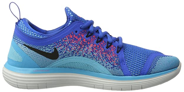 reputable site 45876 13d0a Amazon.com   Nike Free RN Distance 2 Shoes Men s Running Sneakers Soar Black-Hot  Punch   Running