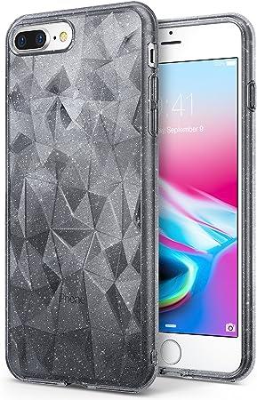 Ringke Funda iPhone 7 Plus/iPhone 8 Plus [Air Prism Glitter] 3D Ligero Bling Elegante patrón de protección TPU Funda para Apple iPhone 7 Plus: Amazon.es: Electrónica