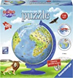 Ravensburger Italy 12340 7 - Puzzle 3D Globo Geografico