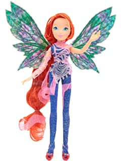 Winx Club Butterflix Fairy Bloom Bambola 28cm Con Magique Robe