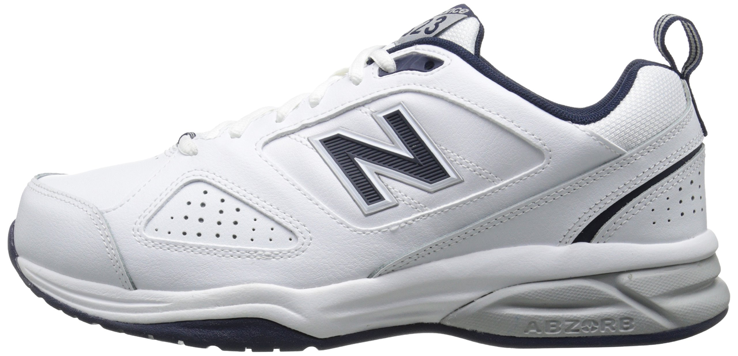 New Balance Men's MX623v3 Casual Comfort Training Shoe,  White/Navy, 8 M US by New Balance (Image #5)