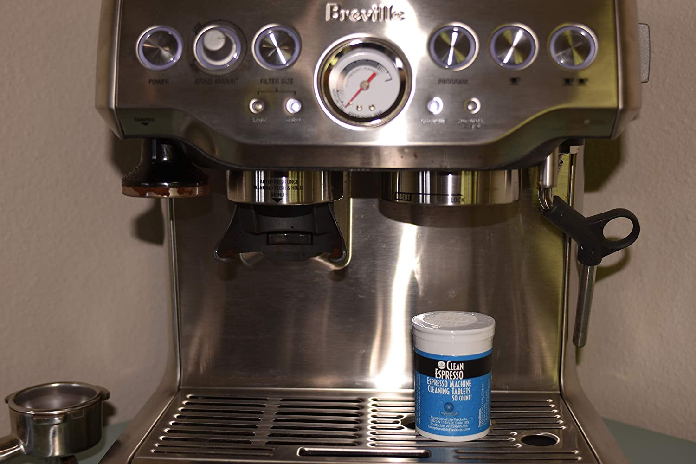 Máquina de café Pastillas de limpieza – cleanespresso modelo br-020 – para Breville Espresso Máquinas blanco: Amazon.es: Hogar