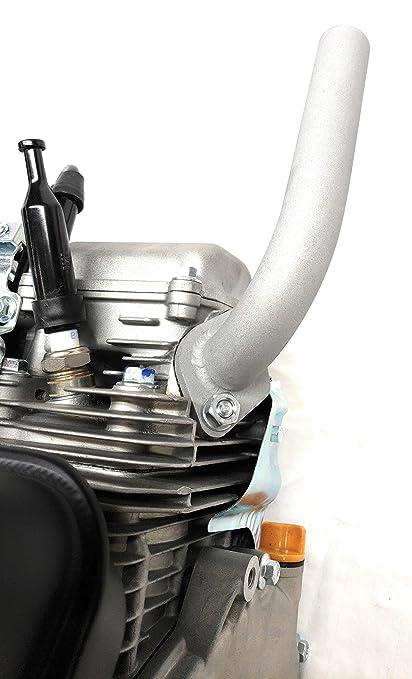 Low Profile Exhaust, Predator 212cc, Honda GX160 & GX200  Go Kart & mini