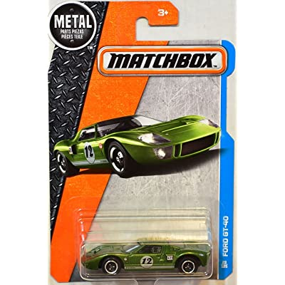 Matchbox 2016 Ford GT-40 23/125, Green: Toys & Games