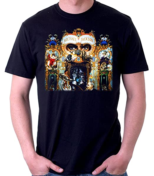 35mm - Camiseta Hombre - Michael Jackson - Dangerous - T-Shirt  Amazon.es   Ropa y accesorios b7fa83cac7cfd