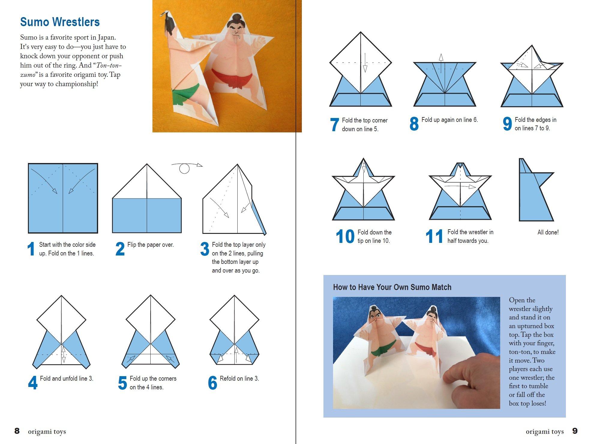 Origami toys image collections craft decoration ideas amazon japanese paper toys kit origami paper toys that walk amazon japanese paper toys kit origami jeuxipadfo Images