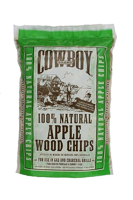 Cowboy 180 Cubic Inch Apple Wood Chips
