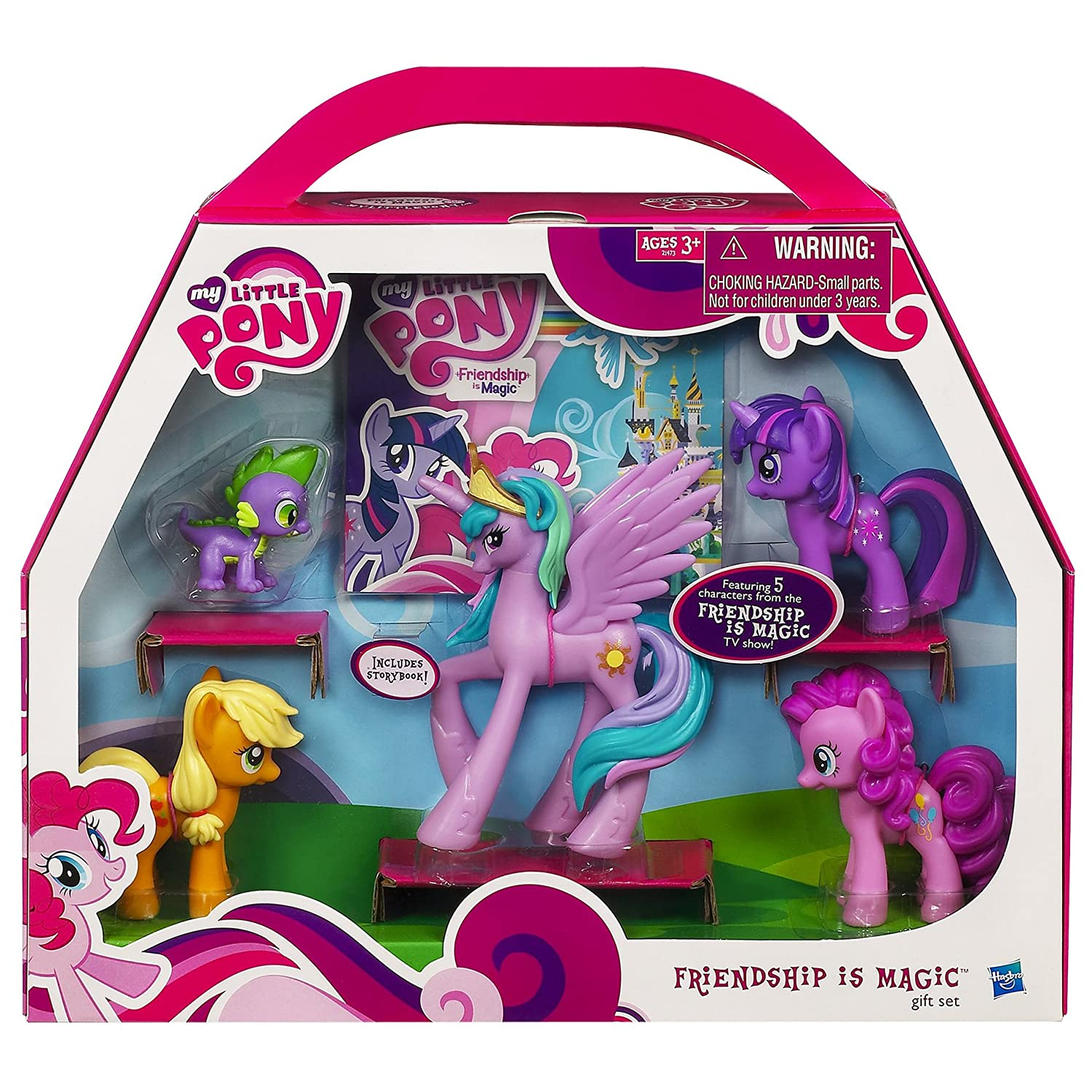 Amazon My Little Pony Friendship Is Magic Gift Set Toys Games