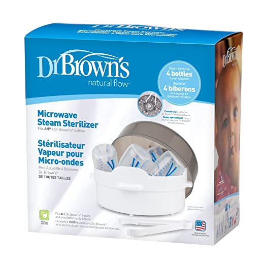 Dr. Browns Microwave Steam Sterilizer Gift Set