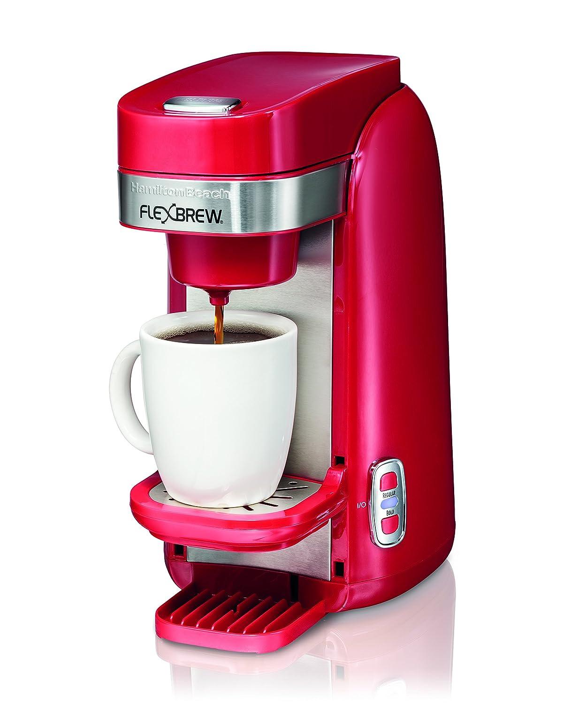 Hamilton Beach FlexBrew Single Serve K-Cup Compatible Coffee Maker, Red 49960 eBay
