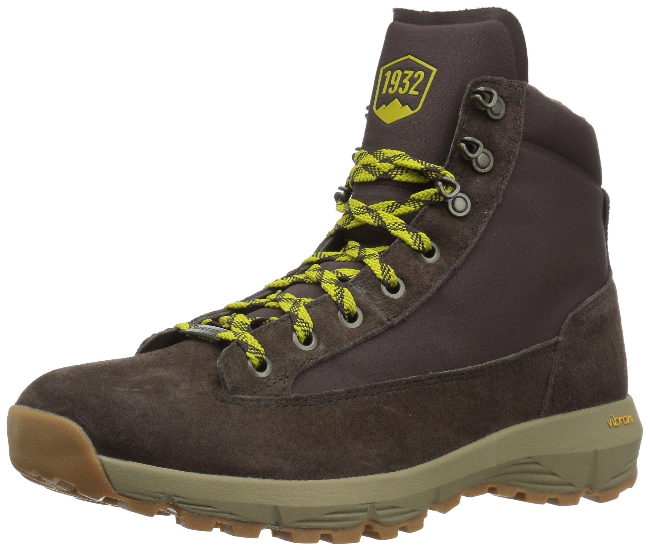 570ed46895b Danner Men's Explorer 650 6 Hiking Boot, Brown/Lime, 9 2E US