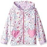 Peppa Pig Girls PPG999OW Peppa All Over Print Raincoat Long Sleeve Raincoat