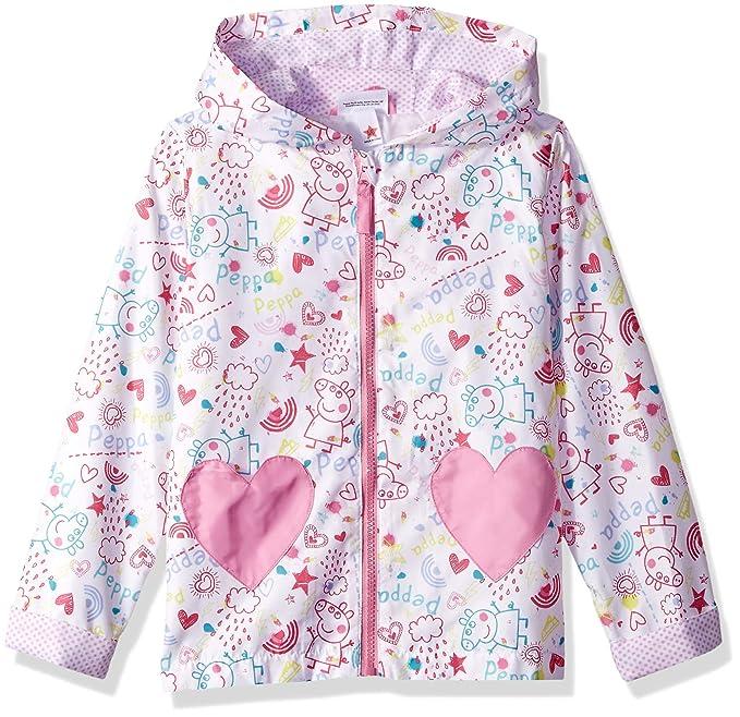 Amazon.com: Peppa Pig - Chubasquero para niña: Clothing