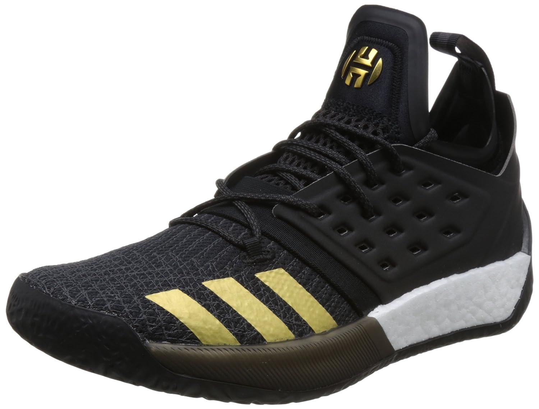(アディダス) adidas ジェームスハーデン シグネチャーモデル Harden Vol.2 バスケットシューズ AH22 AH2215 B079PC7V35 29.0 cm C.Blk/U.Blk/Gold