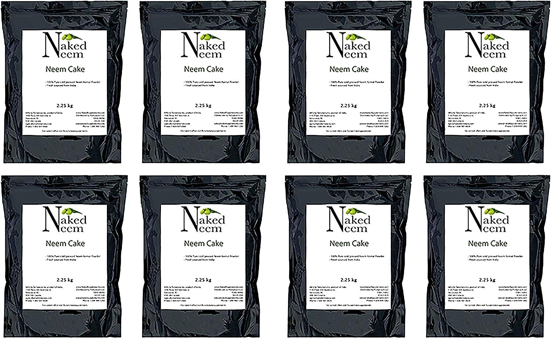 Neem Cake All-Natural Fertilizer (3 Sizes) Organic Gardening (40 lb)