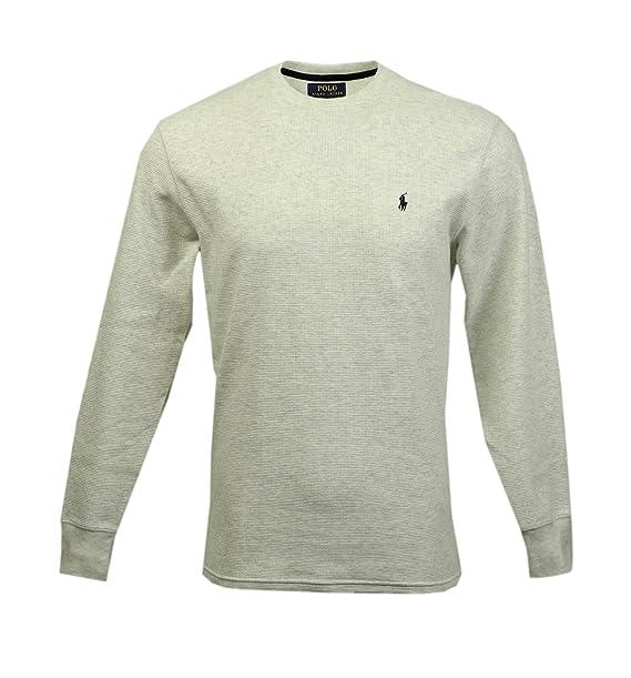 T Ralph Shirtsleepwear Long Men's Polo Sleeved Lauren Thermal 345jARL