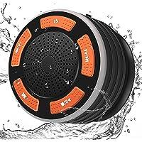 Altavoz Bluetooth DINTO Portatil Impermeable Inalámbrico IPX7 Altavoz para la de Ducha al Agua Supergraves Y Sonido HD…