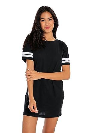 Miami Style Womens Sporty Tunic Dress At Amazon Womens Clothing Store