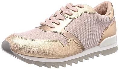 Tamaris Women's 23610 Low Top Sneakers Gold Womens Trainers