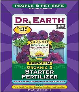 product image for Dr. Earth 701 Organic 2 Transplant Starter Fertilizer, 4-Pound