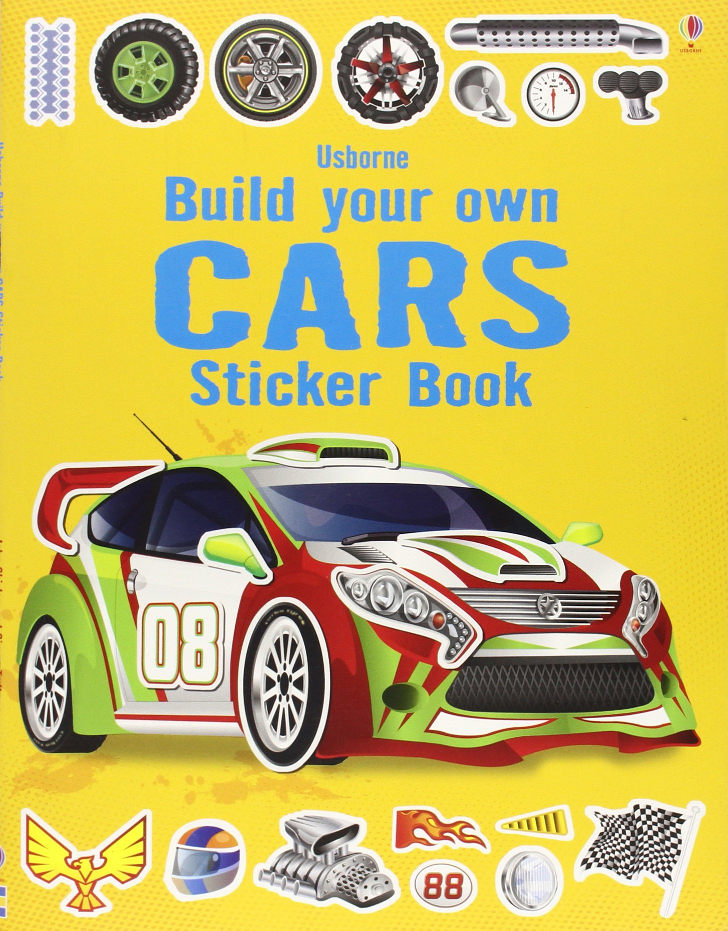 Car stickers design your own - Build Your Own Cars Sticker Book Simon Tudhope 9781409555384 Amazon Com Books