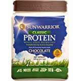 Sunwarrior - Classic Protein, Raw Wholegrain Brown Rice, Chocolate, 17 Servings