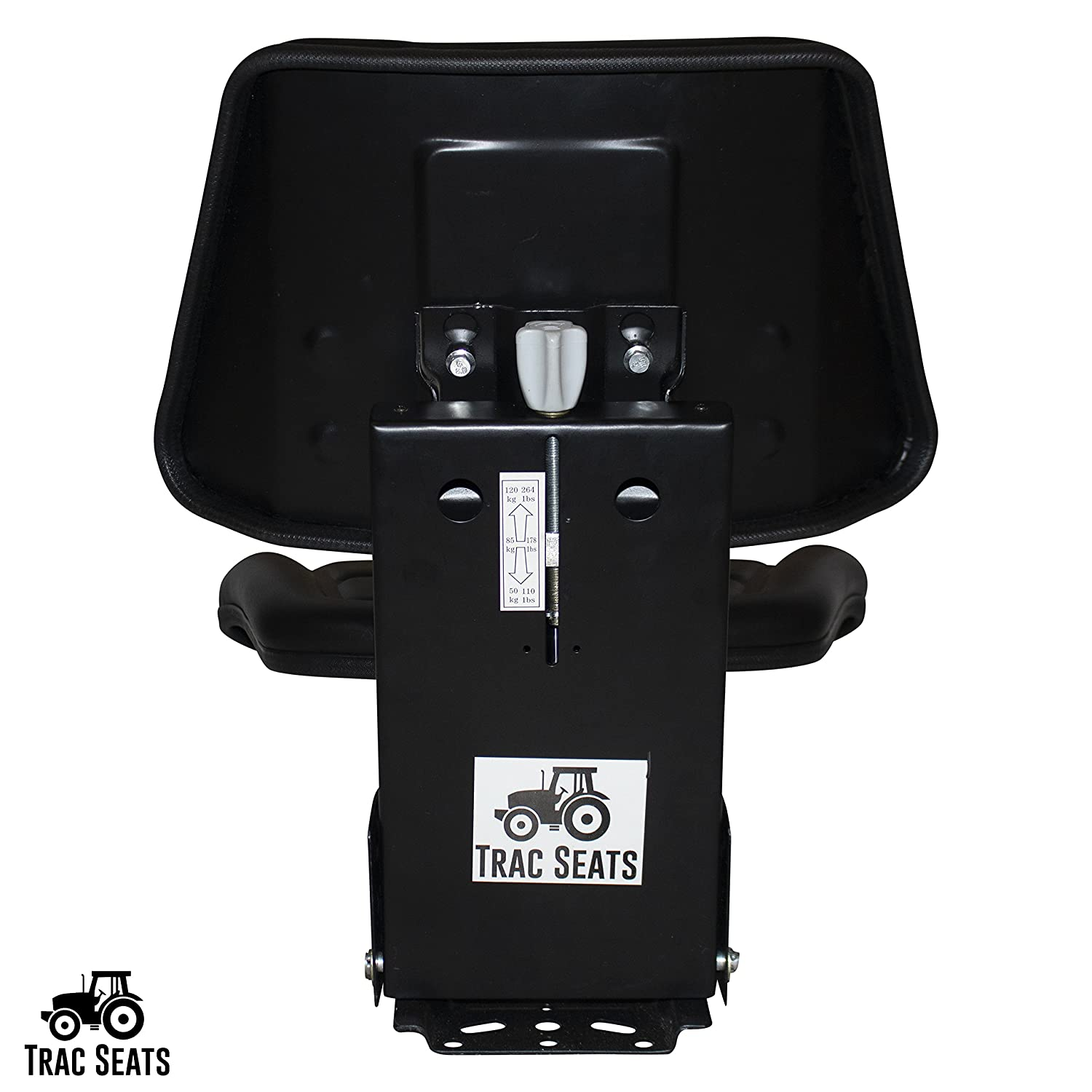 BLACK FORD NEW HOLLAND 2N 8N 9N NAA 640 TRIBACK TRACTOR SUSPENSION SEAT