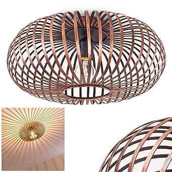 Deckenleuchte Ovari Aus Metall In Kupferfarben Extravagante Lampe