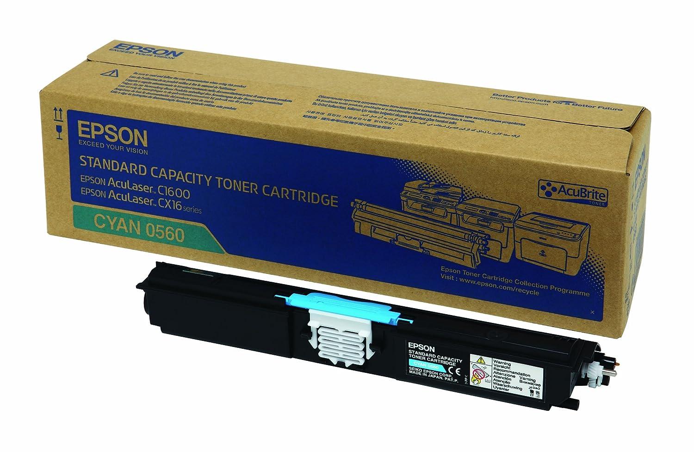 Epson C13S050557 Aculaser C1600// CX16 Tonerkartusche schwarz hohe Kapazit/ät 2.700 Seiten