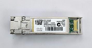 Cisco SFP-10G-SR 10GBASE-SR SFP Transceiver