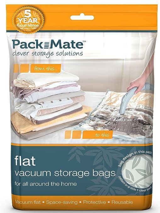 HomeStorage4U Pack Mate - Bolsas para almacenar al vacío (2 ...