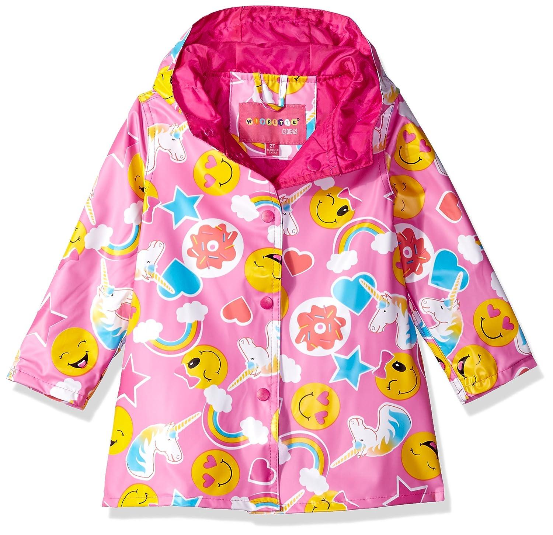 Pink Lemonade Urban Republic Girls Little Ruffle Hem Trench Jacket 5//6