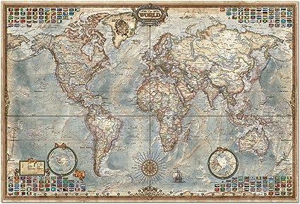 Educa Borras - Genuine Puzzles, Puzzle 4.000 piezas, El mundo ...