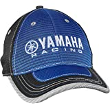 Amazon.com  Yamaha Blue Essential Cap Baseball Hat Embroidered White ... 2c31e9f368a