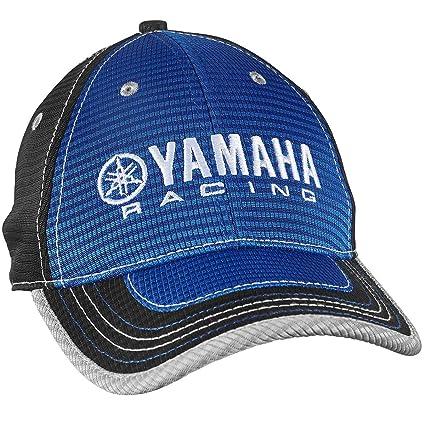 9bbfbf1c9f297 Amazon.com  Yamaha 2016 RACING HAT BLUE BASEBALL CAP CRP-16HYR-BL-NS ...