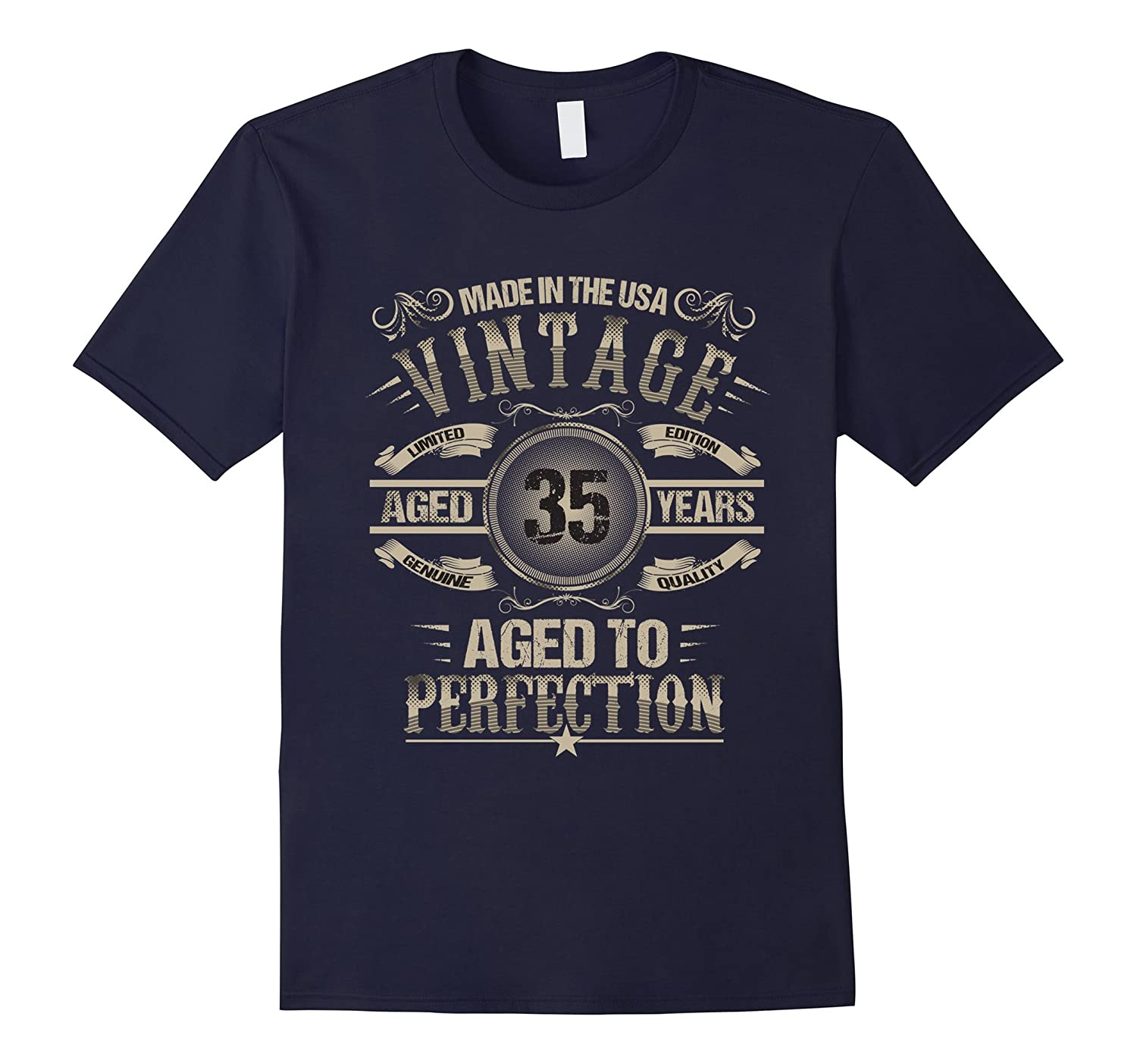 35th Birthday T-Shirt Gift Idea for men and women-CD